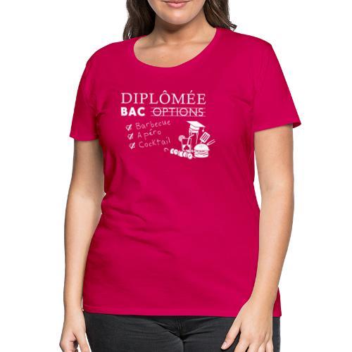 Diplômée - T-shirt Premium Femme