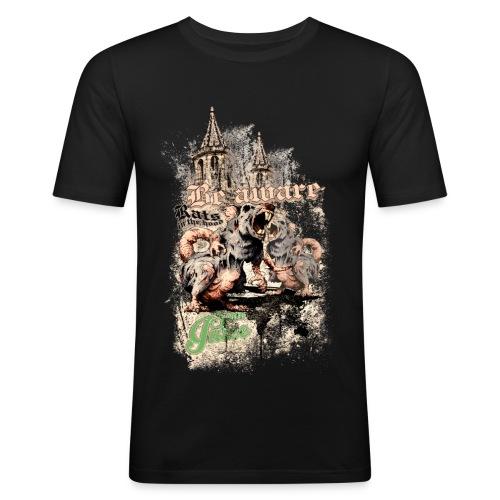 Rats Herren - Männer Slim Fit T-Shirt
