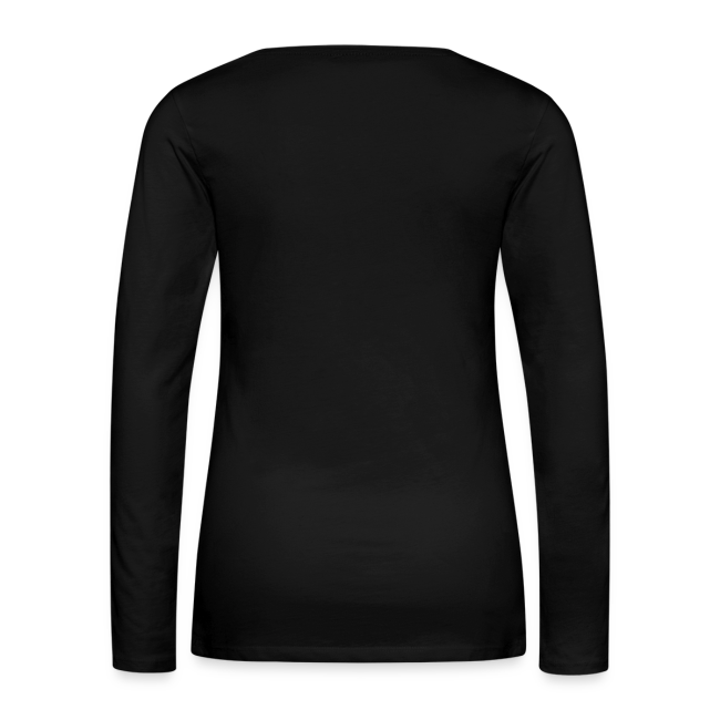 """""""Figures and Faces"""" Women's Long Sleeve 3"""