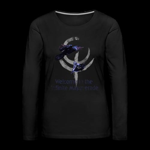 Masquerade Infinite Women's Long Sleeve 2 - Women's Premium Longsleeve Shirt