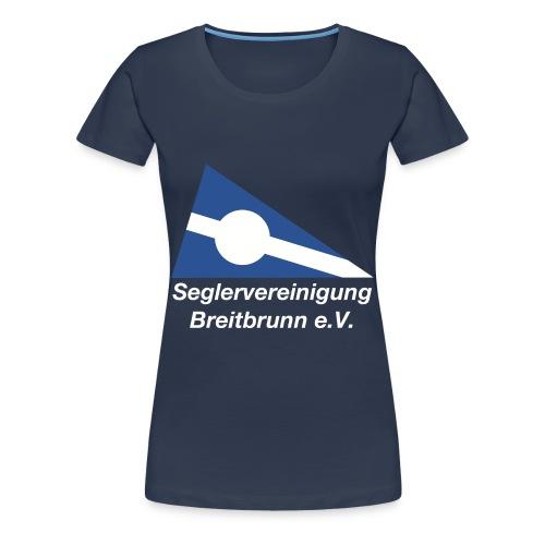 SVBb T-Shirt, Frauen, navy - Frauen Premium T-Shirt