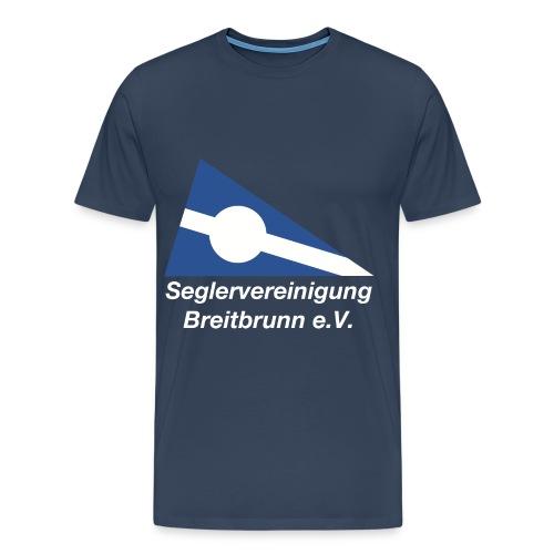 SVBb T-Shirt, Herren, navy - Männer Premium T-Shirt