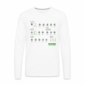 ElectroNoize Synthesizer 2  - langarm Shirt - Männer Premium Langarmshirt