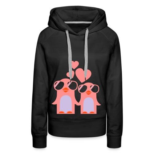 Butterfly Penguin Hoody - Women's Premium Hoodie