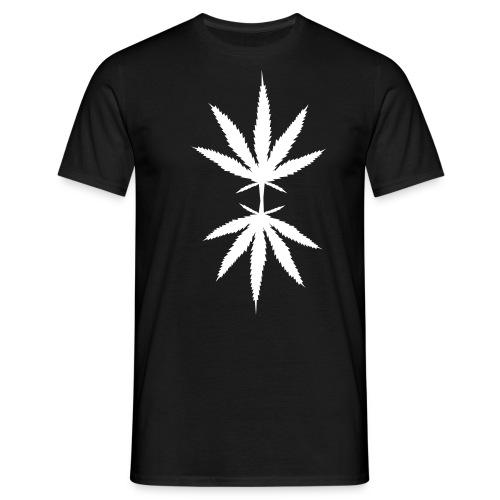 Marijuana Leafs T-shirt - T-shirt herr