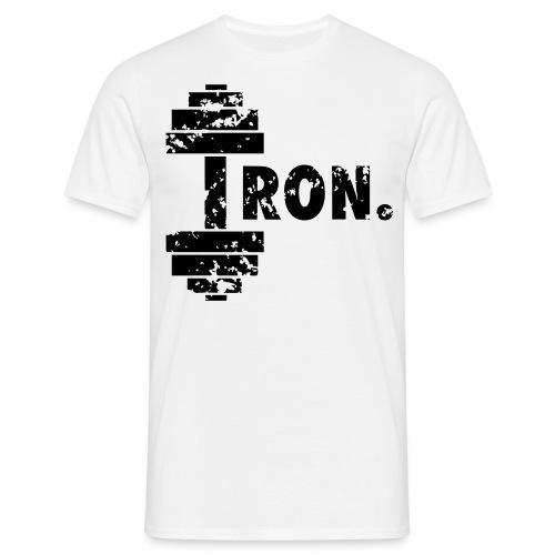 RISKI Iron - Miesten t-paita
