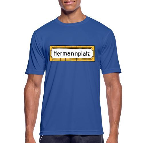 Hermannplatz Berlin Neukölln - Männer T-Shirt atmungsaktiv