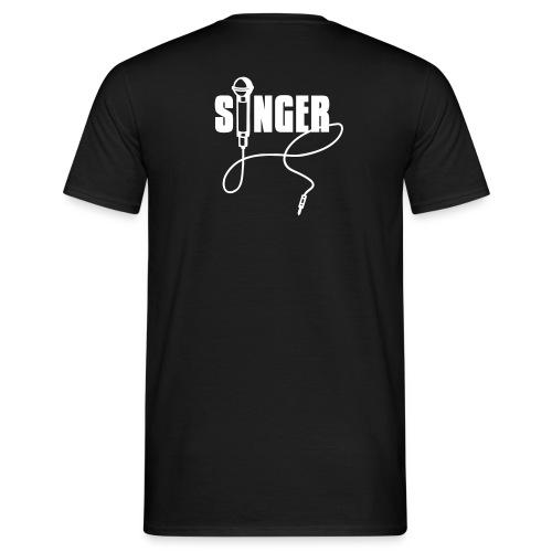 Singer - T-skjorte for menn