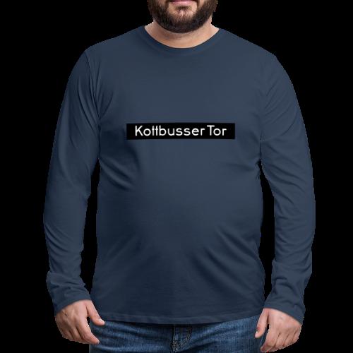 Kottbusser Tor KREUZBERG - Männer Premium Langarmshirt