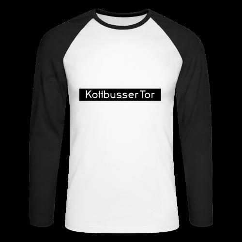 Kottbusser Tor KREUZBERG - Männer Baseballshirt langarm