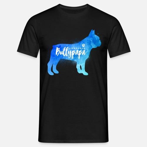Liebender Bullypapa - Männer T-Shirt - Männer T-Shirt