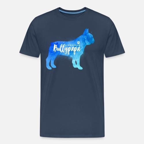 Liebender Bullypapa - Männer Premium T-Shirt - Männer Premium T-Shirt
