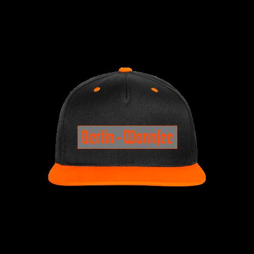 Berlin Wannsee Fraktur - Kontrast Snapback Cap