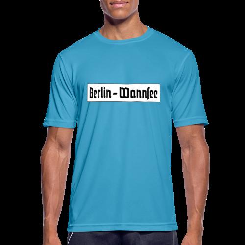 Berlin Wannsee Fraktur - Männer T-Shirt atmungsaktiv