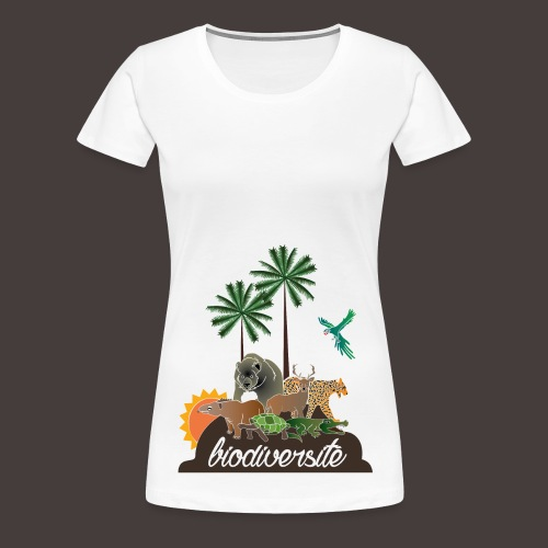 T-shirt Biodiversité - T-shirt Premium Femme