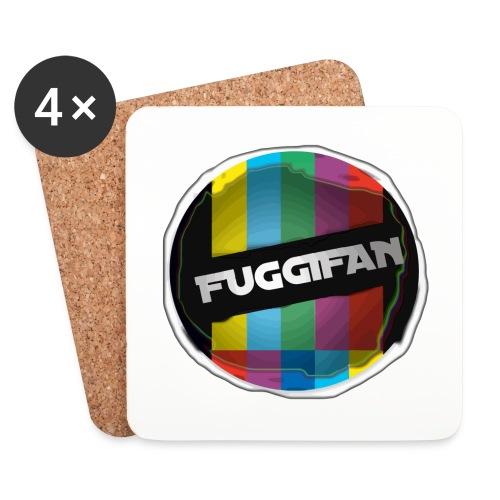 Fuggifan Pullover (Logo Rücken) - Untersetzer (4er-Set)