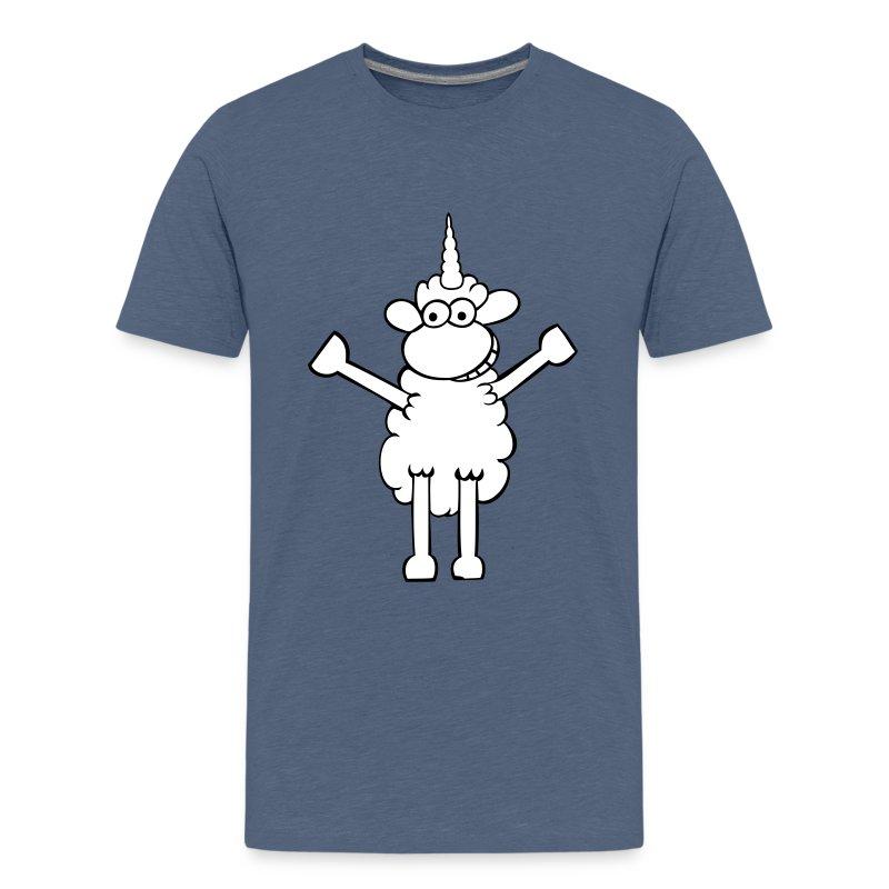 Einhornschaf - Teenager Premium T-Shirt