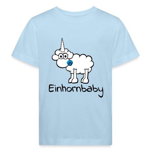 Einhornbaby - Kinder Bio-T-Shirt
