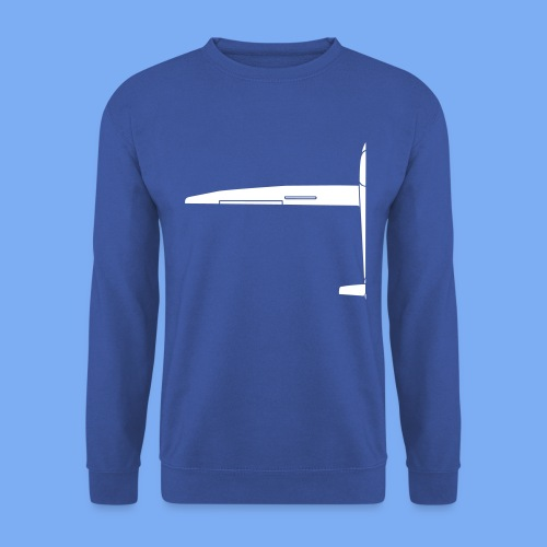 Sailplane halfsize - Men's Sweatshirt