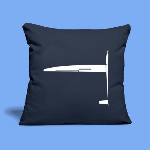Sailplane halfsize - Sofa pillowcase 17,3'' x 17,3'' (45 x 45 cm)
