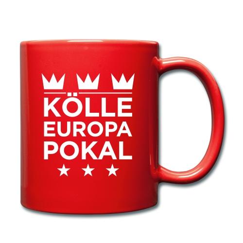 KÖLLE EUROPAPOKAL – Tasse - Tasse einfarbig
