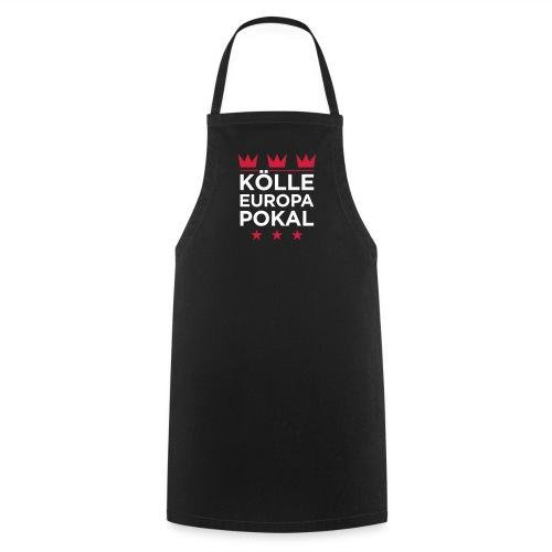KÖLLE EUROPAPOKAL – Grillschürze schwarz - Kochschürze