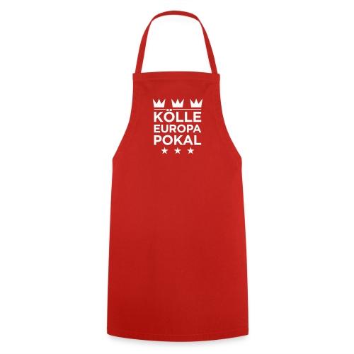 KÖLLE EUROPAPOKAL – Grillschürze rot - Kochschürze