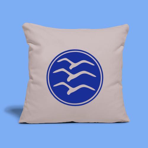 Segelflieger Emblem - Sofa pillowcase 17,3'' x 17,3'' (45 x 45 cm)