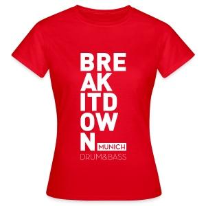 Girl Red 2017 - Frauen T-Shirt