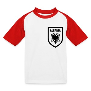 Albania - Kinder Baseball T-Shirt
