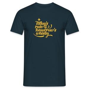 Today's Rain Men's Tee - Quote to Front - Men's T-Shirt