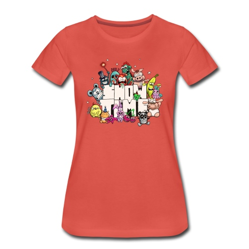 Showtime - Frauen Premium T-Shirt