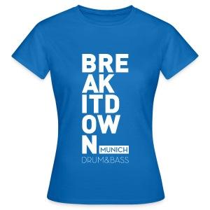 Girl Blue 2017 - Frauen T-Shirt