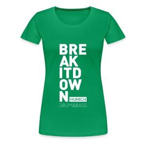 Girl Green 2017 - Frauen Premium T-Shirt