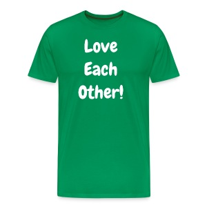 Love Each Other - Original  - Men's Premium T-Shirt