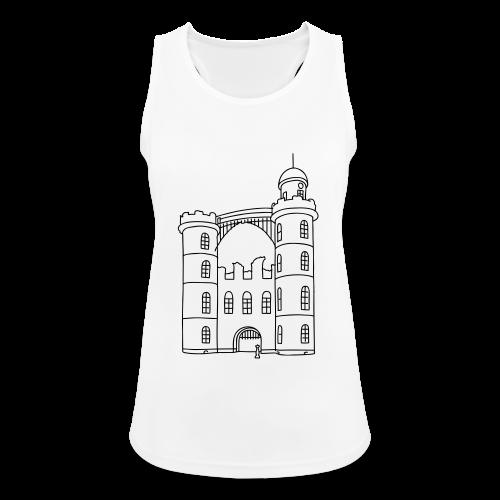 Schloss der Pfaueninsel - Frauen Tank Top atmungsaktiv