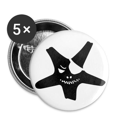Seestern Buttons - Buttons klein 25 mm