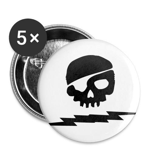 Captn Blakes Manschettenknöpfe - Buttons klein 25 mm