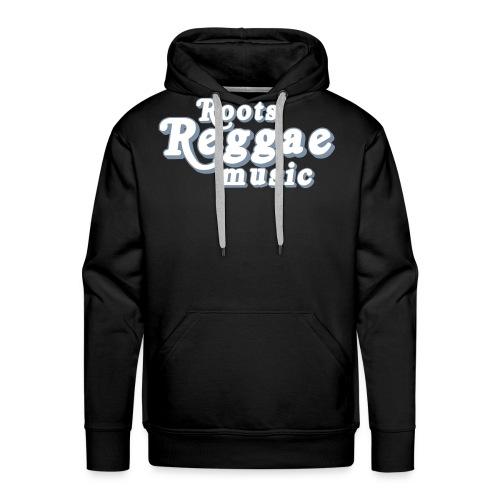 ROOTS REGGAE MUSIC - Sweat-shirt à capuche Premium pour hommes
