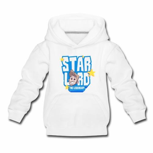 Starlord Kid's Hoodie - Blue Logo - Kids' Premium Hoodie