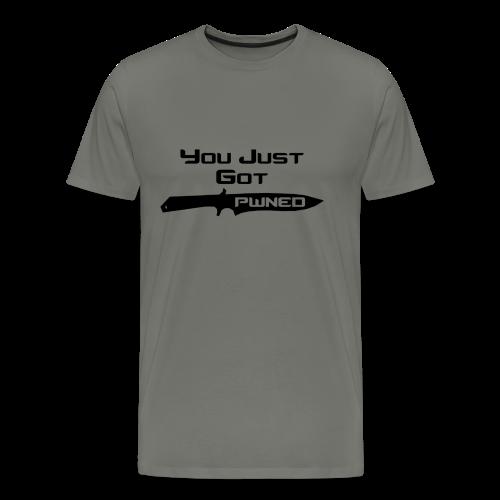 PWNED - Mannen Premium T-shirt