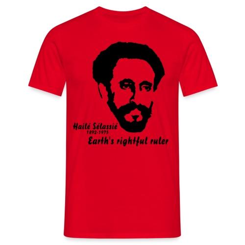 HAILE SELASSIE - T-shirt Homme