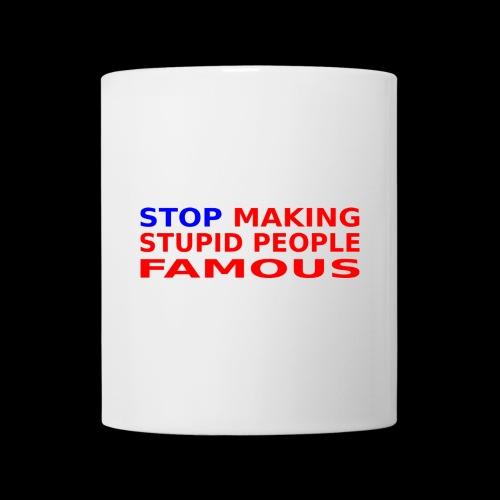 Stop Stupid Cup - Tasse