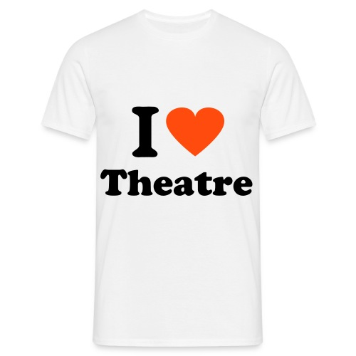 i heart theatre - Men's T-Shirt