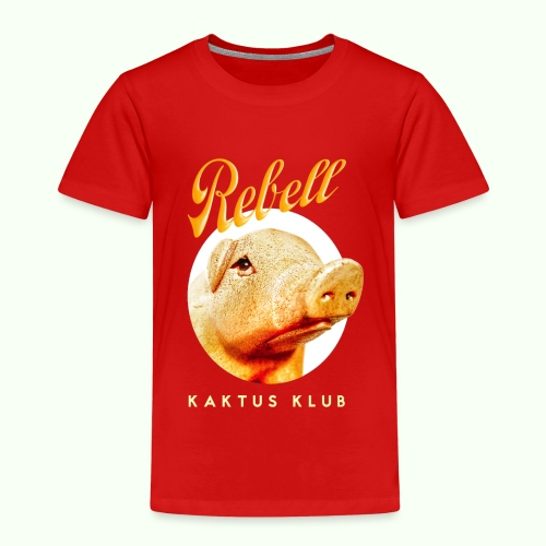 Rebell by Kaktus Klub - Kinder Premium T-Shirt