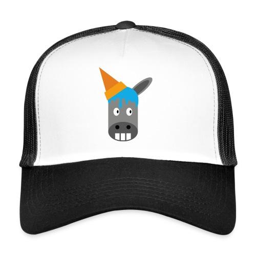 FrozenDonkey Trucker Esel - Trucker Cap