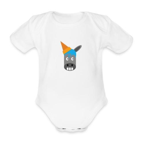 FrozenDonkey Body Baby - Baby Bio-Kurzarm-Body