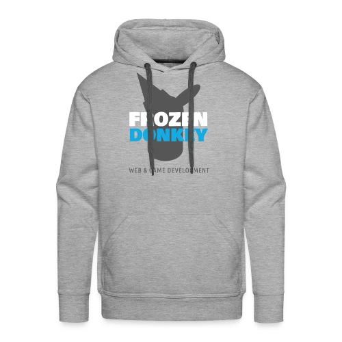 FrozenDonkey Premium Hoodie Niko Grey - Männer Premium Hoodie