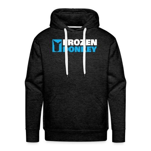 FrozenDonkey Premium Hoodie Logo Grey - Männer Premium Hoodie