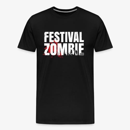 Festivalzombie Shirt A - Männer Premium T-Shirt